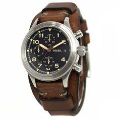 Ceas de Mana Fossil, Barbatesc, Cod JR1432 - Bocane Omega Watch, Fossil, Watches, Leather, Accessories, Wristwatches, Clocks, Fossils, Jewelry Accessories