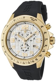 Men's Eograph Chronograph White Grid Dial Black Rubber – Swiss Legend Watch Bulova, Seiko, Rubber Watches, Tag Heuer, Watches Online, Black Rubber, Casio Watch, Chronograph, Facade