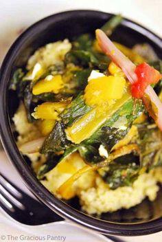 Clean Eating Millet With Garden Vegetables