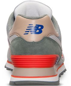 fb88c5fc7c4 New Balance Men's 574 Casual Sneakers from Finish Line Casual Shoes, Men  Casual, Casual