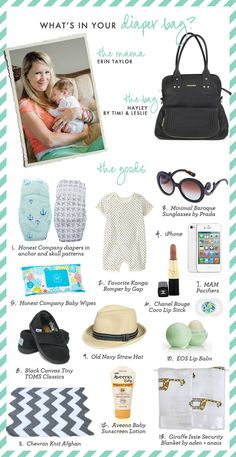 What's in Your Diaper Bag? { Erin Taylor }