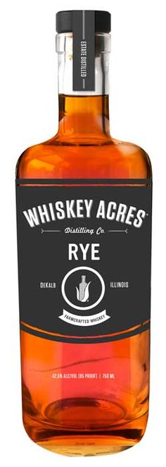 """We've got a """"high"""" rye (75% rye) for those of you who prefer your whiskey with a bit of a kick! Not to fear though because we use a very particular strain of rye known for having the presence of a vanilla note to soften the blow."""