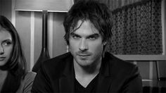 Ian Somerhalder - Damon Salvatore gif