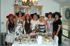 Southern Ladies Tea Party | Good old fashion southern 'Tea Party'__One lovely gal of the group decided it was time for a 'Tea Party' since we do so many other types of events during the year.   — murphyweddings.wordpress.com