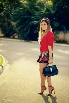 NO LOOK RED LE LION - Ligada na Moda