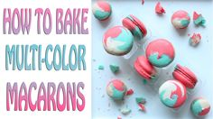 I really hope you enjoy this TRI-Colour Macaron tutorial. They are so awesome to look at and I'm sure it will be a hit at any party. I'm always thinking of n...