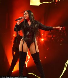 Demi Lovato kicks off her Tell Me You Love Me World Tour | Daily Mail Online