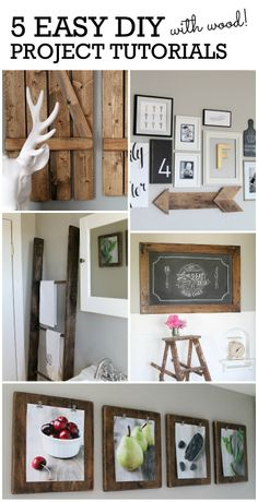 Don't miss these 5 fabulous tutorials you can use to transform your space! Find the details at maisondepax.com