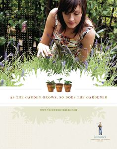 Landscape Garden Store Poster available @4pmdesign.com