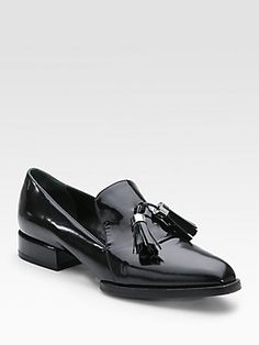 Alexander Wang Georgie Patent Leather Loafers