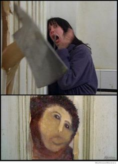 Jesus in The Shining