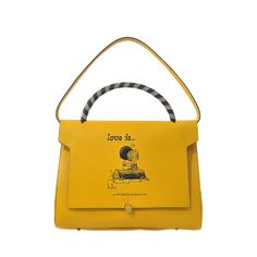 ANYA HINDMARCH Love Is Bathurst Satchel. #anyahindmarch #bags #leather #hand bags #satchel