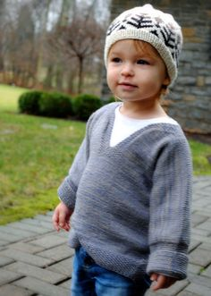 Easy Pullover for babies, toddlers...free pattern