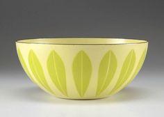 Cathrineholm Lotus Bowl - Wedding gift - Yellow Green