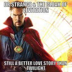 Dr Strange Benedict Cumberbatch meme funny cloak of levitation Doctor Strange Memes, Doc Strange, Doctor Humor, Doctor Strange Cloak, Strange Facts, Fandoms Unite, Marvel Memes, Marvel Dc Comics, Avengers Memes