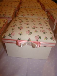 Caixa Flora, para as madrinhas.