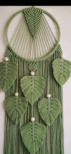 Macrame Wall Hanging Patterns, Macrame Plant Hangers, Macrame Art, Macrame Design, Macrame Projects, Macrame Knots, Macrame Patterns, Crochet Patterns, Rope Crafts