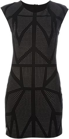Philipp Plein studded pencil dress on shopstyle.com