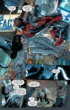 Silk saves Spider-Man like a dozen times in Amazing Spider-Man vol. 3 #6