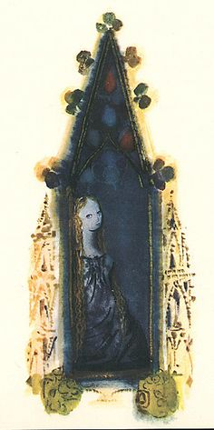 The Bluebird by Marie d'Aulnoy, illustrations by Mirko Hanák