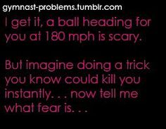 Especially doing a trick on a beam only 4 inches wide!