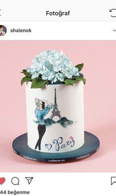 Mini Tortillas, Peanut Sauce Chicken, Beautiful Birthday Cakes, Fashion Cakes, Cake Art, Cake Toppers, Decorating Ideas, Pasta, Ballet