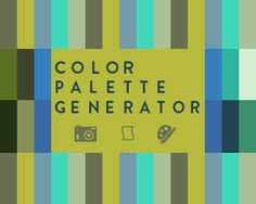 free photoshop script to generate color palettes from a photograph.
