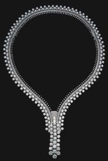 Van Cleef diamond zipper bracelet -- The Duchess of Windsor Collection