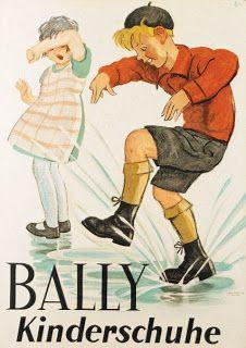 d-IGITAL-boi SA: Vintage posters - BALLY advertising