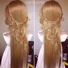 Instagram photo by hairbyjaney -  lace braid  #braid #braidlife #fishtailbraid #mermaidbraid #weddingupdo #bridalhair #bridalupdo #updo #instabraid #hairpostos #cutegirlshairstyles #summerhair #beachhair #ipweeklydo #beachhair #beachywaves #beachday #sunnyday #braidtrends #braidsforgirls #braidphotos #bridalupdo #long_hairstyles #longhairdontcare @amazing_pretty @braidsforgirls @cutegirlshairstyles @brooklynandbailey @instabraid @braidtrends @braidphotos @hairs.post @hairpostos