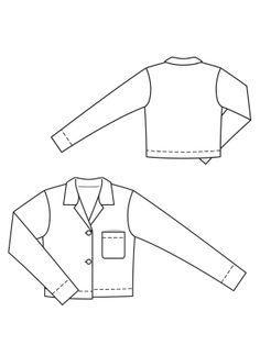 Shirt Jacket  www.sewingavenue.com