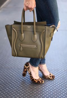 Celine bag and cute shoes