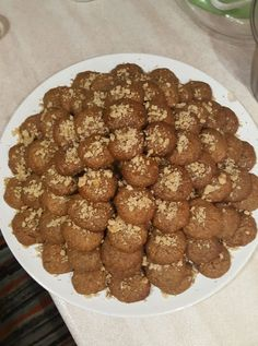Canning Recipes, Cookbook Recipes, Cookie Recipes, Greek Desserts, Greek Recipes, Greek Cookies, Christmas Sweets, Food And Drink, Yummy Food