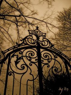 Victorian gothic gate                                                                                                                                                                                 More