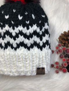 Baby Hat Knitting Pattern, Beanie Pattern, Knitting Patterns Free, Free Knitting, Easy Knit Blanket, Knitted Blankets, Knitted Hats, Cable Knitting, Yarn Store