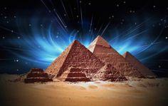 Coucher du soleil-Egypte pyramides Tissu affiche Décor(China)