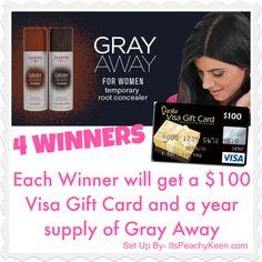 Enter the $100 Visa Gift Card giveaway at lookbylizlewis.com!