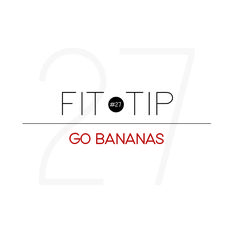 Bananas make for the ideal pre-workout snack! Considered nature's power bar, they are packed with carbohydrates and potassium, which supports nerve and muscle function. Plus, they're super easy to grab and eat on your way to the gym!