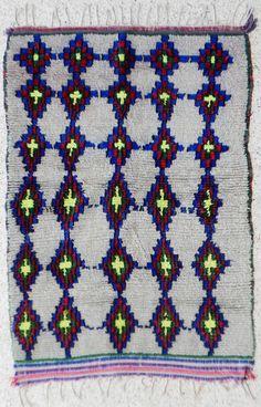 natural virgin wool carpet AZILAL berber rug, moroccan carpet