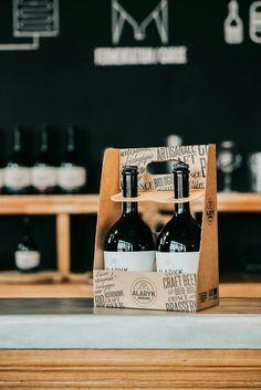 Two 75cl pack. Design Studio Asensó. Made by Cartembal for Alaryk Brewery.  #bieresartisanales #bieresbiologiques #craftbeer #bieresetgastronomie #savoirfaire #frenchbeer #Alarykbeer #brasserieAlaryk
