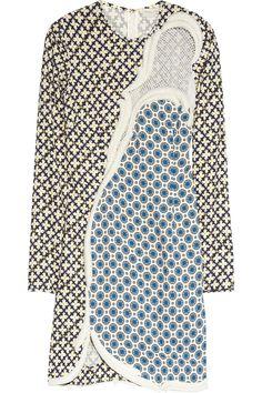 STELLA MCCARTNEY  Hackett printed stretch-crepe dress  £3,321.46