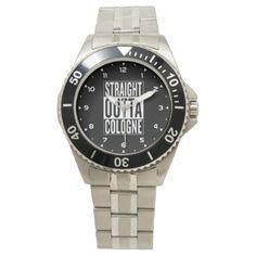 #straight outta Cologne | Köln Wrist Watch - #custom #cool