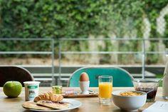 Breakfast 9Hotel Montparnasse  #Paris #garden #Breakfast