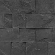 Exterior Decorative Stone Cladding Get A Trending Look Stone Cladding Texture, Stone Cladding Exterior, Exterior Tiles, Wall Exterior, Stone Cladding Tiles, Ranch Exterior, Exterior Signage, Craftsman Exterior, Cottage Exterior
