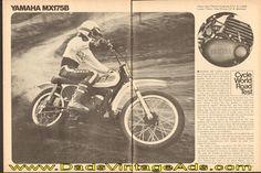 1975 Yamaha MX175B Road Test / Specs