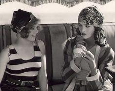 Anges Franey and Myrna Loy via Pasi Raiha