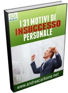 I 31 motivi di Insuccesso personale
