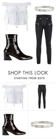 """""""NIRVANA #2"""" by bahrainimermaid ❤ liked on Polyvore featuring Dolce&Gabbana, Unravel, Dorateymur and Cartier"""