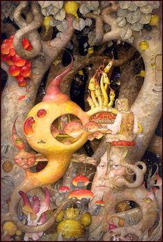 """""""Farewell Kingdom"""" ~ Daniel Merriam ~ Watercolorist Extraordinaire ~ Miks' Pics """"Daniel Merriam ll"""" board @ http://www.pinterest.com/msmgish/daniel-"""