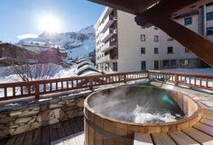 hot tub ski terrace - Google Search
